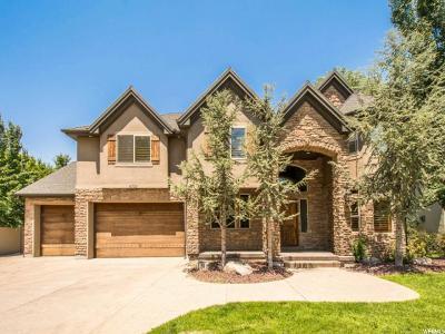 Salt Lake City Single Family Home For Sale: 4732 Hidden Woods Ln