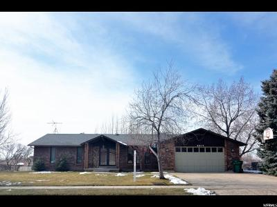 Layton Single Family Home For Sale: 2377 N Raelyn Way