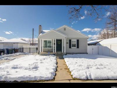 Salt Lake City Single Family Home For Sale: 2928 S 1500 E