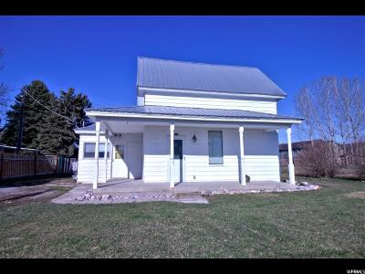 Preston Single Family Home For Sale: 279 N 3rd East E