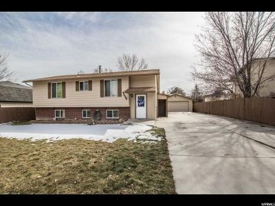 West Jordan Single Family Home For Sale: 3739 W Hillsboro Cir S