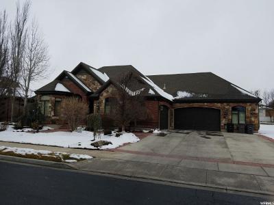 South Jordan Single Family Home For Sale: 11136 S Sir Barton Ln W