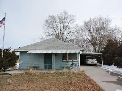 Hinckley UT Single Family Home For Sale: $60,000