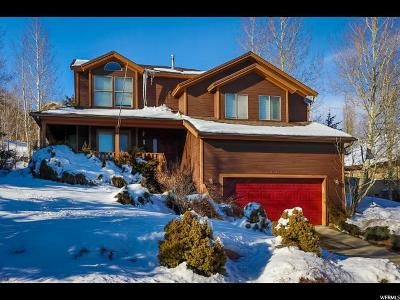 Park City Single Family Home For Sale: 4192 W Sunrise Dr N