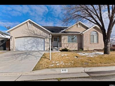 Orem Single Family Home For Sale: 442 W 1780 N