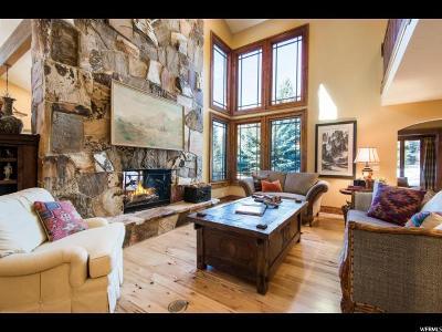 Park City Single Family Home For Sale: 3205 Crestline Dr