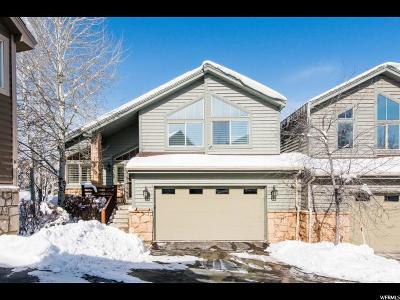 Park City Townhouse For Sale: 7481 Brook Hollow Loop