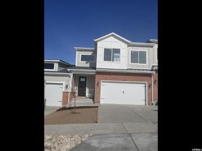 Herriman Townhouse For Sale: 14259 S Bella Vea Dr W #53