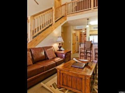 Park City Condo For Sale: 2669 Canyons Resort Dr #323