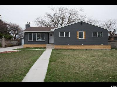 Salt Lake City Single Family Home For Sale: 3850 S Redwing St
