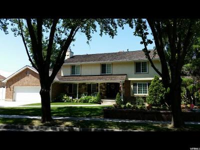 Murray Single Family Home For Sale: 5866 S Meadowcrest E