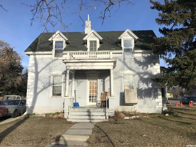 Brigham City Single Family Home For Sale: 177 S 200 E