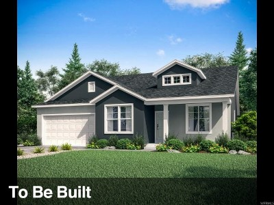 Saratoga Springs Single Family Home For Sale: 54 E Baltic Rush Ave #122