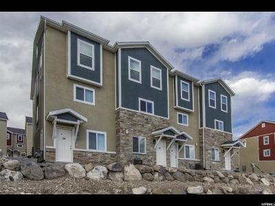 Herriman Townhouse For Sale: 4184 W High Gallery Ct S