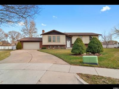 Clinton Single Family Home For Sale: 2154 N 1100 W