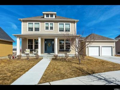 South Jordan Single Family Home For Sale: 10391 S Millerton Dr