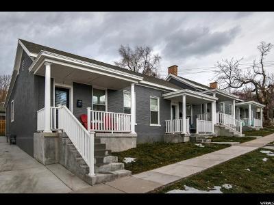 Salt Lake City Multi Family Home For Sale: 136 W 600 N
