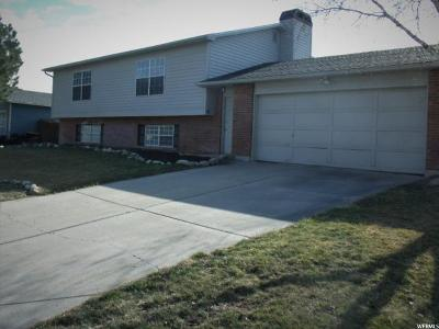 West Jordan Single Family Home For Sale: 8328 S McClanahan Ln W