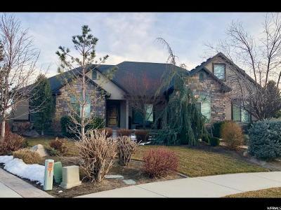South Jordan Single Family Home For Sale: 3495 W Kamran Ridge Cv