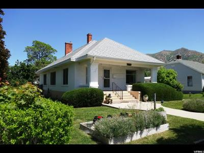Brigham City Single Family Home For Sale: 138 W Forest St