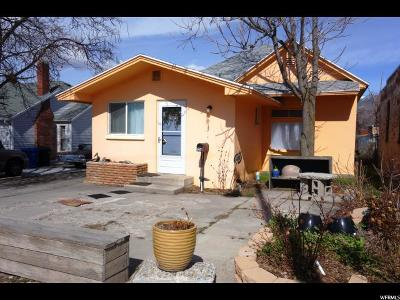 Brigham City Single Family Home For Sale: 124 W Forest St
