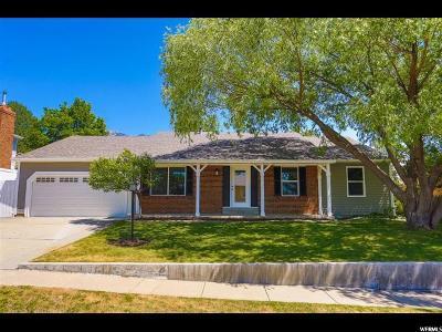 Sandy Single Family Home For Sale: 11897 S Cedar Ridge Rd Rd E