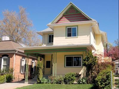 Salt Lake City Single Family Home For Sale: 807 E 2nd Ave
