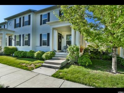 South Jordan Townhouse For Sale: 4927 W Calton Ln S