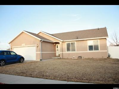 West Jordan Single Family Home For Sale: 7415 S 4880 W