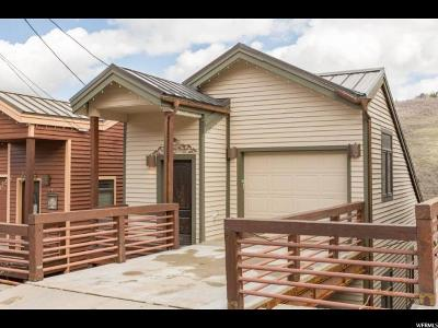 Park City Single Family Home For Sale: 1184 N Lowell Ave