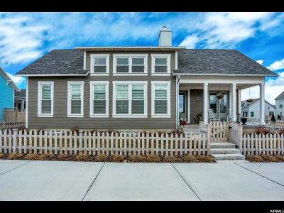 South Jordan Single Family Home For Sale: 4618 W Crosswater Rd S