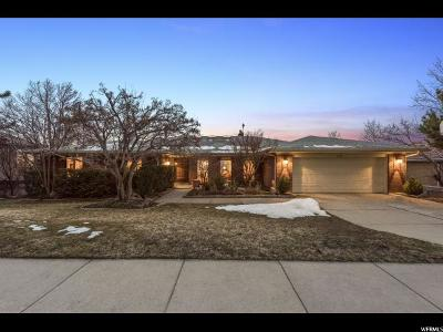 Salt Lake City Single Family Home For Sale: 1442 E Kristianna Cir N