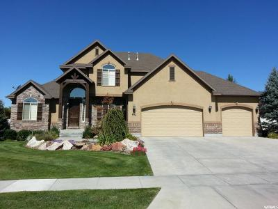 Kaysville Single Family Home For Sale: 962 W Mill Shadow Dr S