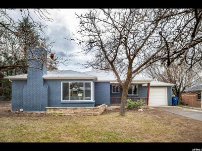 Holladay Single Family Home For Sale: 2644 E 3900 S