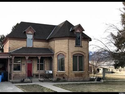 Single Family Home For Sale: 595 N State