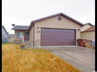 Eagle Mountain Single Family Home For Sale: 1708 E Slow Water