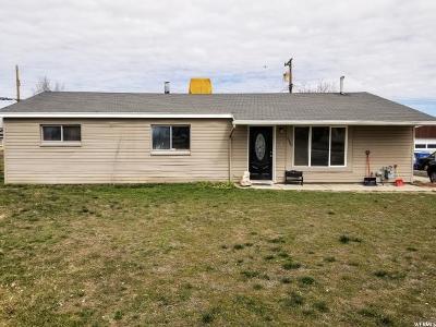 Salt Lake City Single Family Home For Sale: 4580 W 4745 S