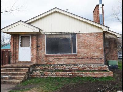 Ogden Single Family Home For Sale: 3285 S Stephens Ave