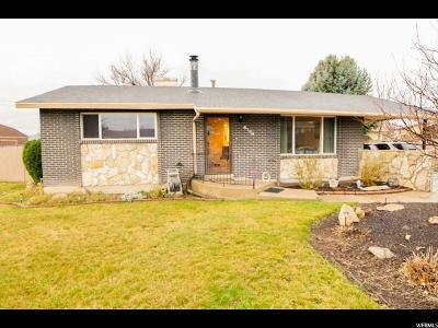 Salt Lake City Single Family Home For Sale: 6184 S Zodiac Dr