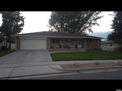 Taylorsville Single Family Home For Sale: 4880 S Pinewood Dr W