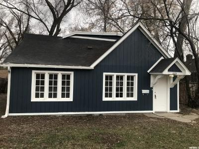 Ogden Single Family Home For Sale: 613 E Healy St S