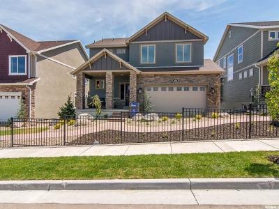 Herriman Single Family Home For Sale: 4319 W Rosecrest Rd #LOT 4