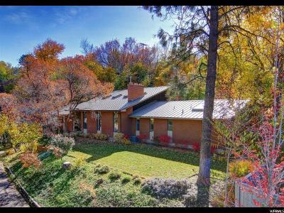 Salt Lake City Single Family Home For Sale: 1778 E Mill Ln S