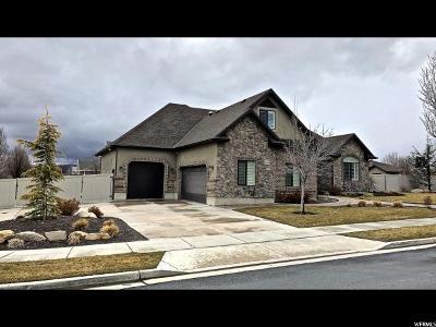 Riverton Single Family Home For Sale: 4137 W Park Hollow Ln