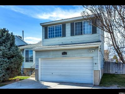 West Jordan Single Family Home For Sale: 8752 S Pinion Ln W