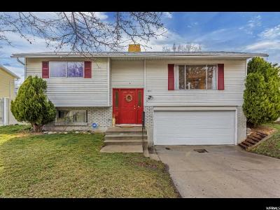 Salt Lake City Single Family Home For Sale: 841 N Dorothea Way W