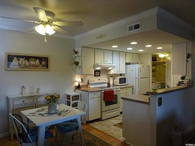 Cottonwood Heights Condo For Sale: 1282 E Ridge Meadow Ln Ln S #7 L