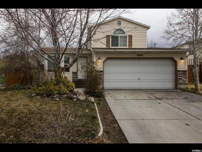 Taylorsville Single Family Home For Sale: 5883 S 3230 W