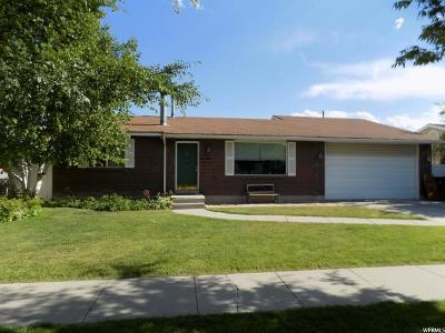 Taylorsville Single Family Home For Sale: 3903 W Hazy Way S