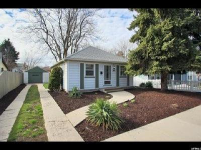 Salt Lake City Single Family Home For Sale: 364 E Coatsville Ave S